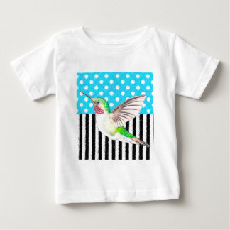 Artsy Hummingbird Blue Baby T-Shirt