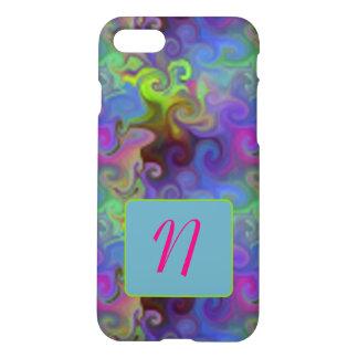 Artsy iPhone 7 Case Custom Initial