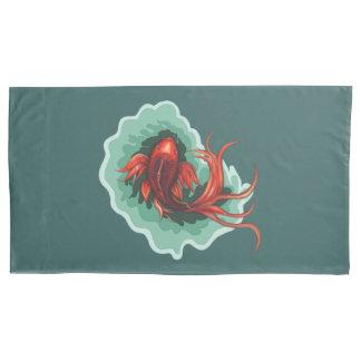Artsy Koi Carp Pillowcase