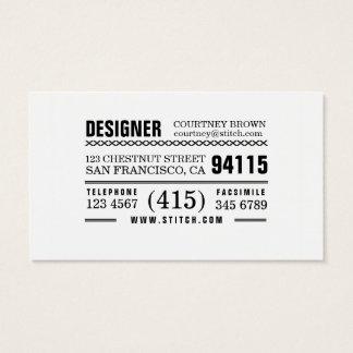 Artsy Multi-Purpose Business Card