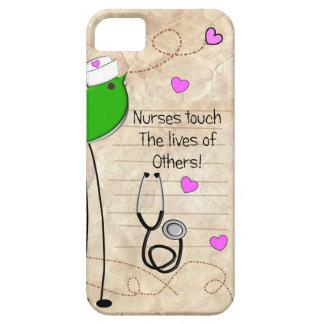 Artsy Nurse Bird iPhone 5 Cover