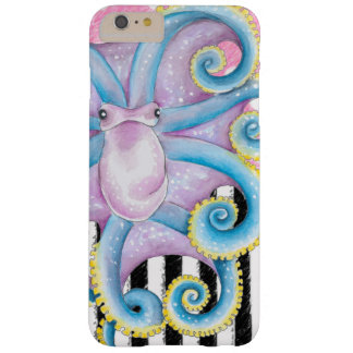 Artsy Octopus Pink Barely There iPhone 6 Plus Case