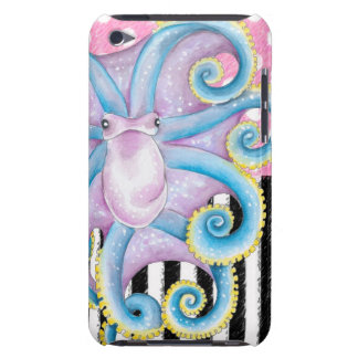 Artsy Octopus Pink Barely There iPod Covers