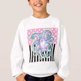 Artsy Octopus Pink Sweatshirt