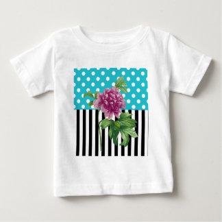 Artsy Peony Blue Baby T-Shirt