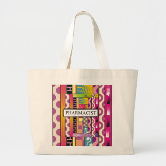 Artsy Pharmacist Gifts Large Tote Bag