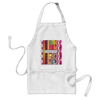 Artsy Pharmacist Gifts Standard Apron