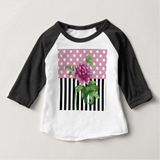 Artsy Pink Peony Baby T-Shirt