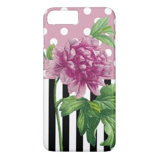 Artsy Pink Peony iPhone 8 Plus/7 Plus Case