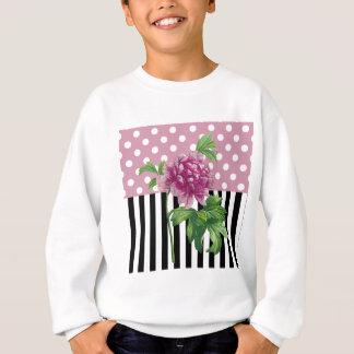 Artsy Pink Peony Sweatshirt