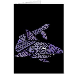 Artsy Shark Card