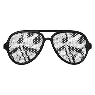 Artsy Sheet Music Aviator Sunglasses