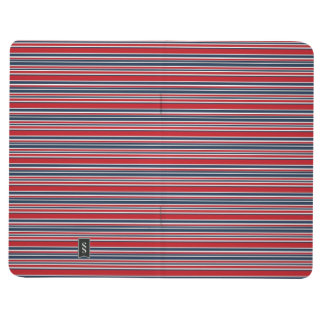 Artsy Stripes in Patriotic Red White and Blue Journal