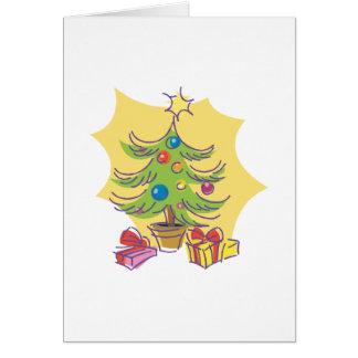 Artsy Tree Card