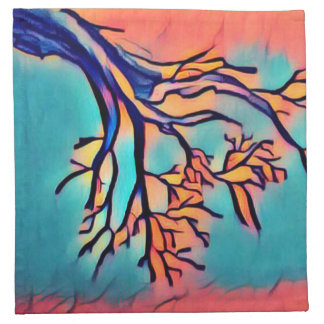 Artsy Tree Cloth Napkins