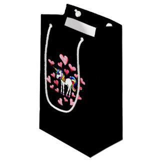Artsy Unicorn Love Small Gift Bag