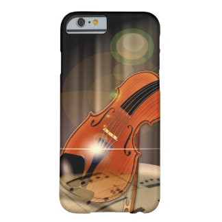 Artsy Violin Music Barely There iPhone 6 Case