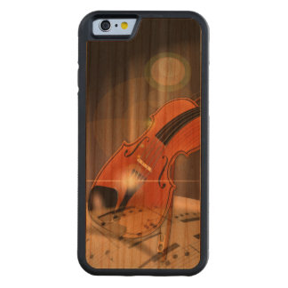 Artsy Violin Music Cherry iPhone 6 Bumper Case