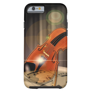 Artsy Violin Music Tough iPhone 6 Case