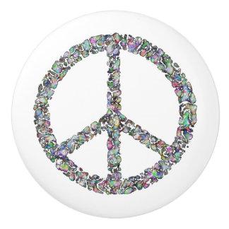 Artsy Wax Design Peace Sign Knob