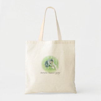 Artwork Australian Shepherd Agility Bag