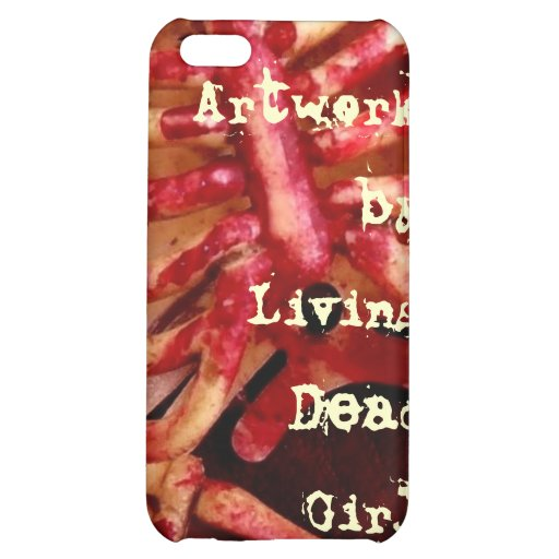 Artwork By Living Dead Girl Nicole Bloody iphone C iPhone 5C Cover