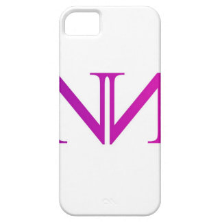 Artwork with two alphabet N in pink Case For The iPhone 5