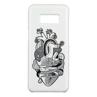 Arty Heart TATTOO Cartoon Samsung Galaxy S8 Case-Mate Samsung Galaxy S8 Case
