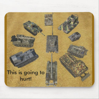 arty party mouse pad