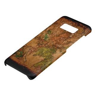 Arty Vintage Old World Map of Europe 1740 Case-Mate Samsung Galaxy S8 Case