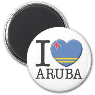 Aruba 2 Inch Round Magnet