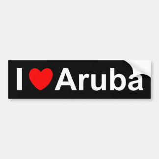 Aruba Bumper Sticker