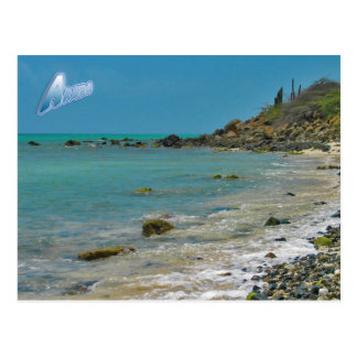 Aruba Coastline Postcard