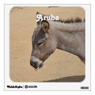 Aruba Donkey Wall Decal