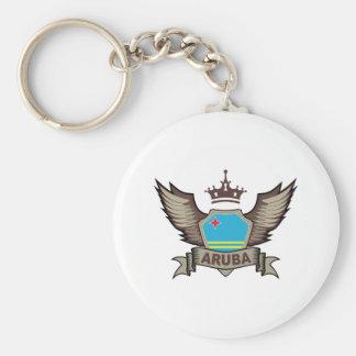 Aruba Emblem Keychain