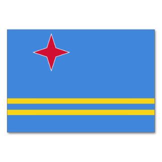 Aruba Flag Card