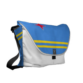 Aruba Flag Courier Bags