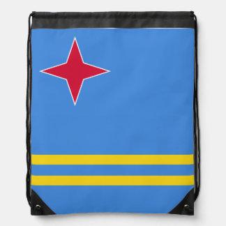 Aruba Flag Drawstring Bag