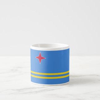 Aruba Flag Espresso Cup
