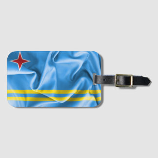 Aruba Flag Luggage Tag