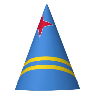 Aruba Flag Party Hat