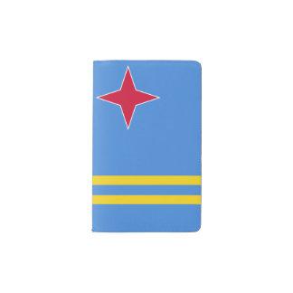 Aruba Flag Pocket Moleskine Notebook