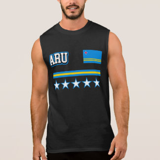 Aruba Flag Sleeveless Shirt