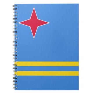 Aruba Flag Spiral Notebook