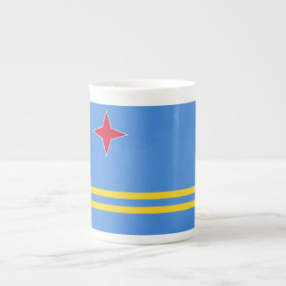 Aruba Flag Tea Cup