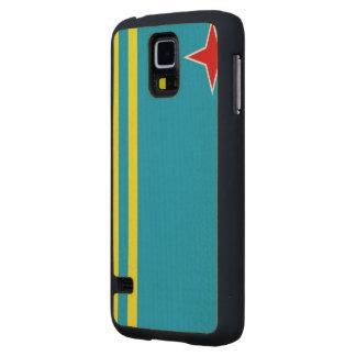 Aruba Flag Carved® Maple Galaxy S5 Case
