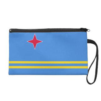 Aruba Flag Wristlet