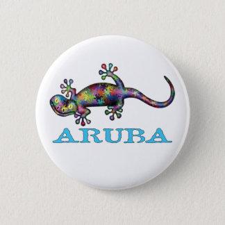 Aruba gecko 2 inch round button