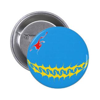 Aruba Gnarly Flag Buttons