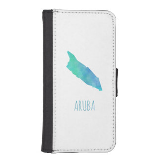 Aruba iPhone SE/5/5s Wallet Case